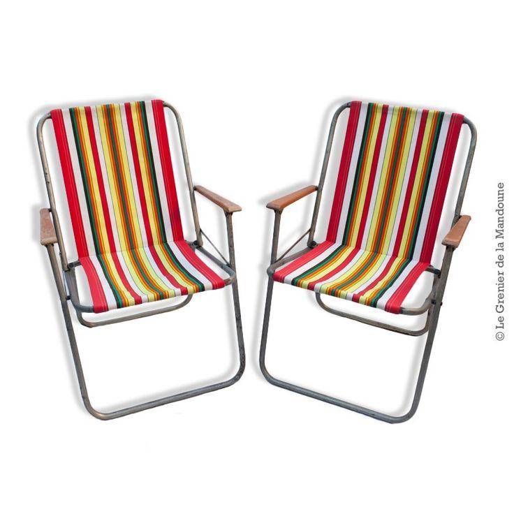 Les 25 meilleures id es concernant chaise de plage sur for Chaise de plage