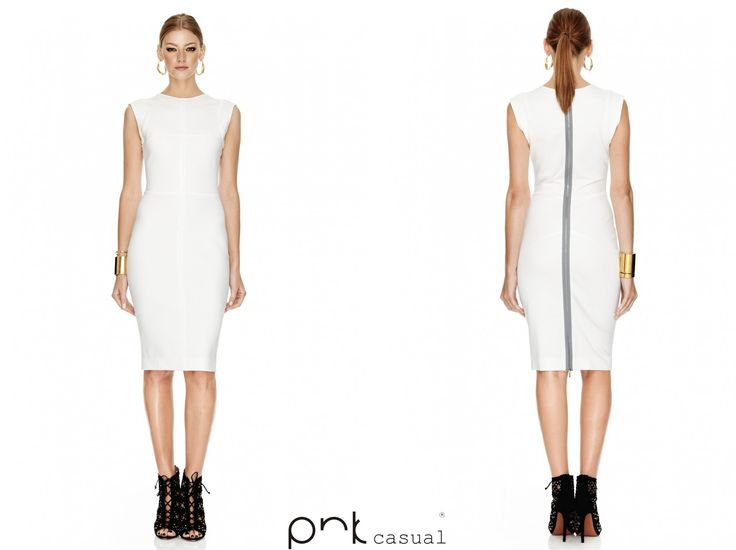 A white dress can be elegant and classy in any season.  #pnkcasual #cool #fashion #happiness
