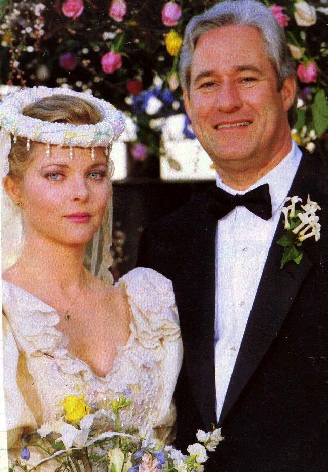 Melissa Sue Anderson and Michael Sloan