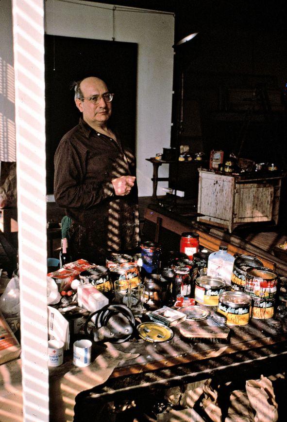 Mark Rothko Photographed in his New York studio 1964 by Alexander Liberman.