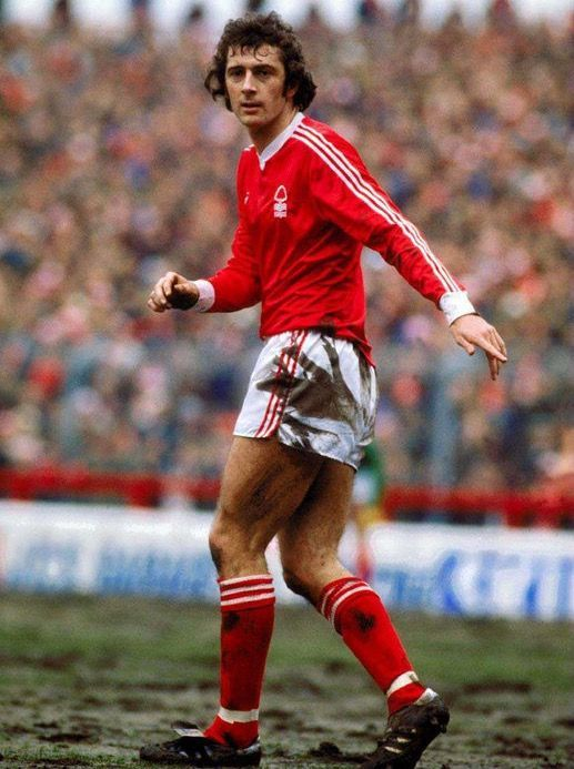 Trevor Francis of Nottm Forest in 1979.