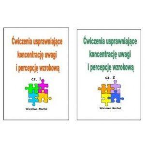 Ćwiczenia usprawniające koncentrację uwagi i percepcję wzrokową. Cz. 1 i 2