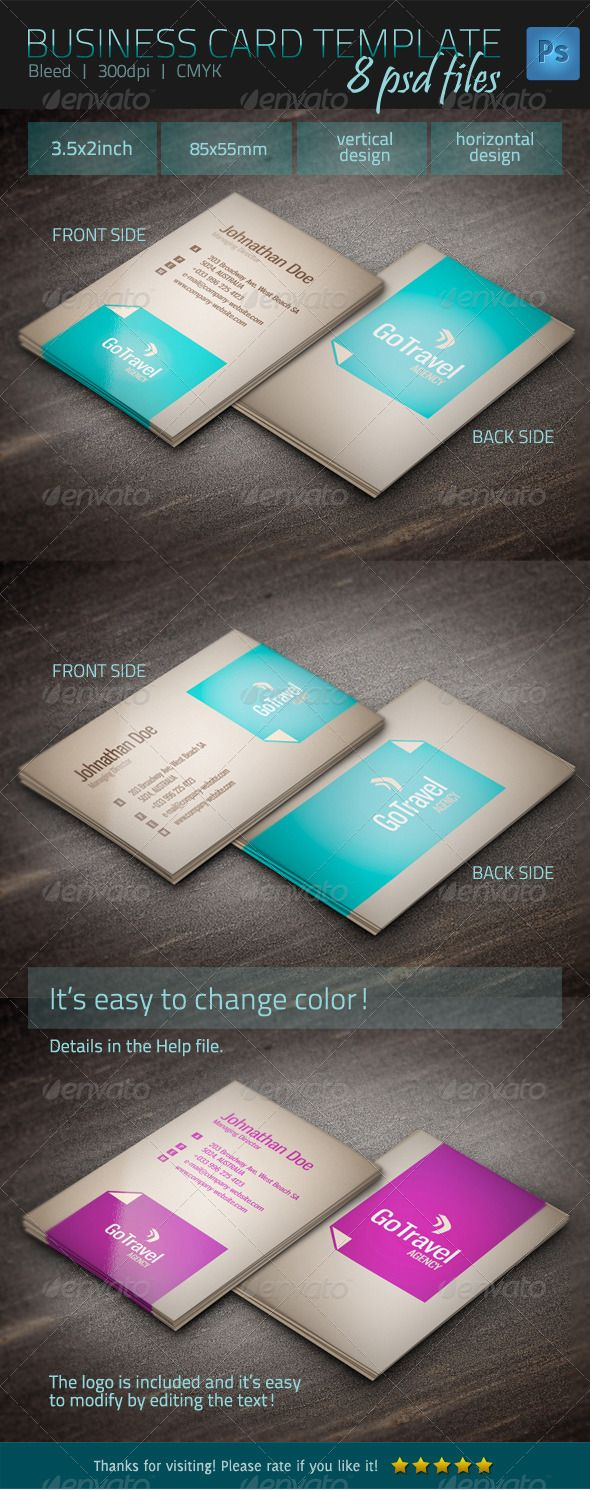 20 best business card images on pinterest business card design business card template magicingreecefo Choice Image
