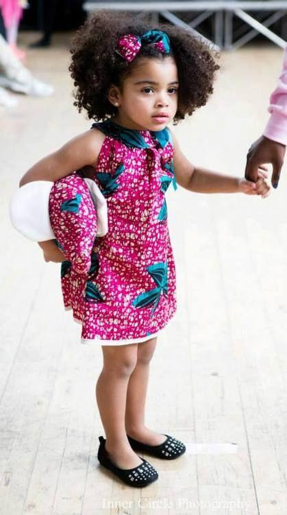 African children's fashion & style Lil Cutie
