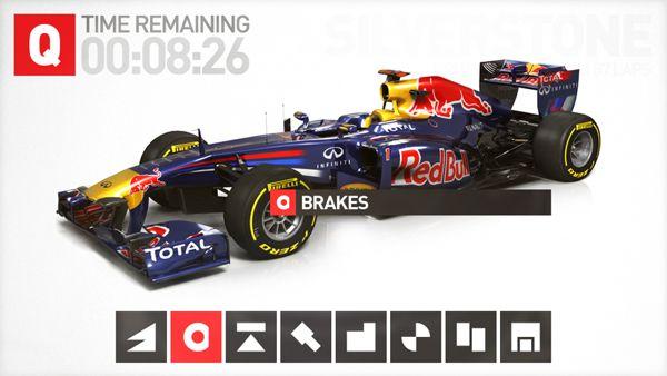 F1 2010 by Matt O'Connor, via Behance