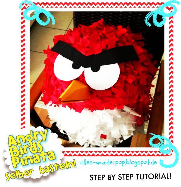 Ich LIEBE Pinatas zu basteln! Ich habe eine für das Geburtstags meines Sohnes gebastelt und für meine Überraschung ist sie richtig ...