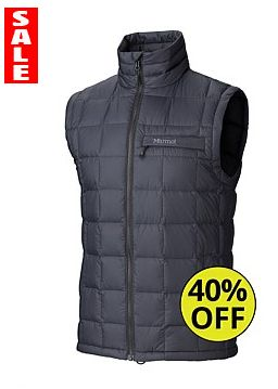 The Marmot Ajax Men's Vest is 40% off for Fathers Day 2014 - Grab a bargain click here: http://www.outsidesports.co.nz/Brands/Marmot/CNAL73080/Marmot-Ajax-Vest.html#.VAe11PmSxic