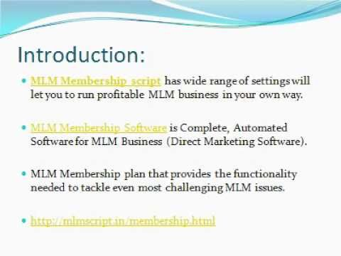 Our MLM Script is the best answer for both corporate organizations and web business visionaries for taking care of different exercises of your expert MLM business.