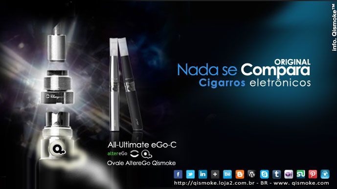 Cigarros Eletrônicos Originais -  Nada se compara