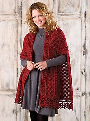 Crochet Shawl & Wrap Patterns - Lisdoonvarna Shawl