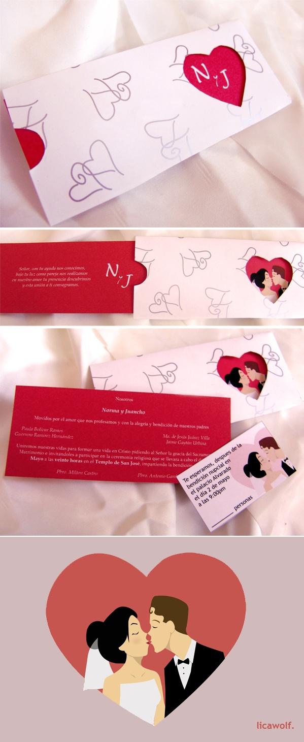 19 best wedding invitations images on Pinterest | Bridal invitations ...