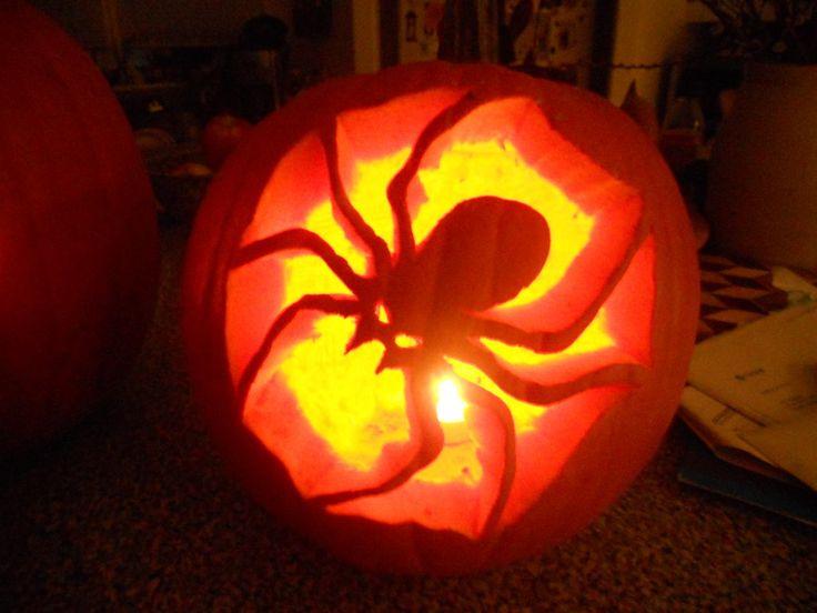 1000 ideas about spider pumpkin on pinterest halloween