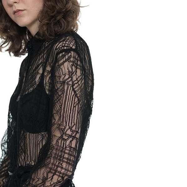 Potenza Dress in exclusive French Solstiss lace #epiloguebyevaemanuelsen