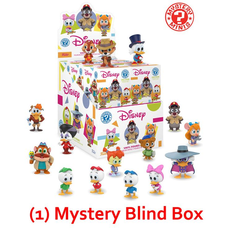 Funko Mystery Minis Vinyl Figure The Disney Afternoon S1
