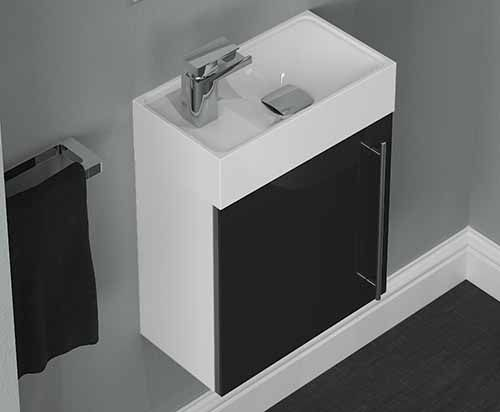 Form - Form bathroom furniture vanity units come in a wide choice of woodgrain and gloss finishes; perfect for any style of bathroom.