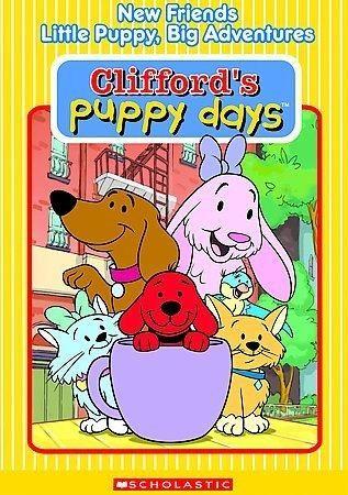 Clifford Puppy Days: New Friends/Little Puppy