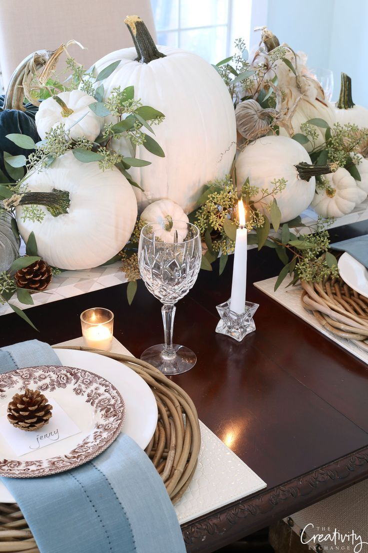 Fall Tabletop Decor Ideas Moody Monday With Images Fall Table Settings Fall Tabletop Decor Fall Tabletop