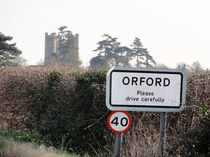 A view of Orford Castle
