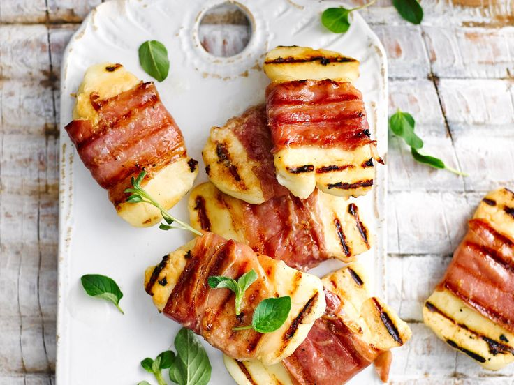 Love prosciutto? Love haloumi? Then you will adore these delicious prosciutto and haloumi wraps - a true match made in heaven.