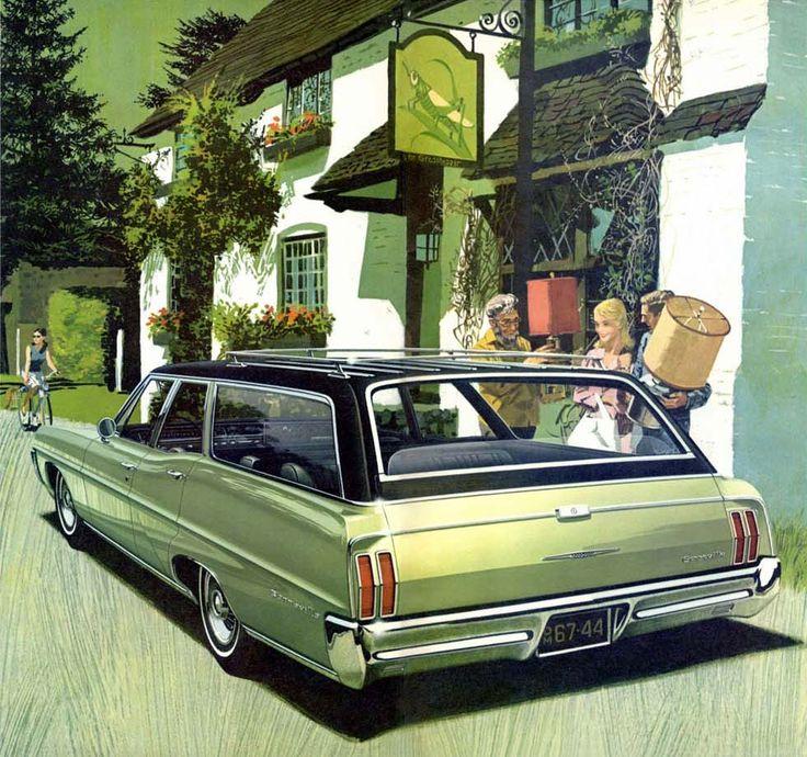 1967 Pontiac Bonneville Station Wagon: Art Fitzpatrick and Van Kaufman