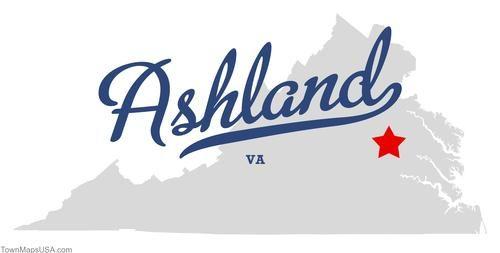 map of ashland virginia va