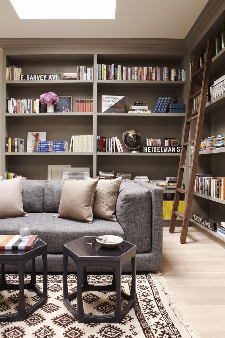 Co colour coordinated bookshelf - Vermont House By Simo Design
