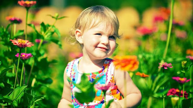 Free Image - Free Photo: Cute Baby With Smile Face - Free High Resolution I..
