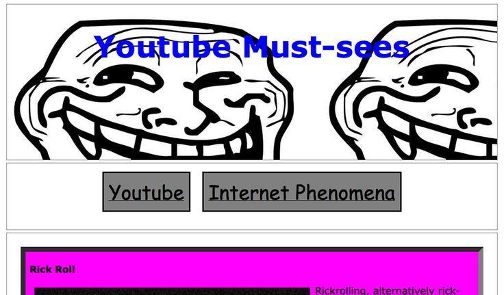 Joshua's Youtube Portal