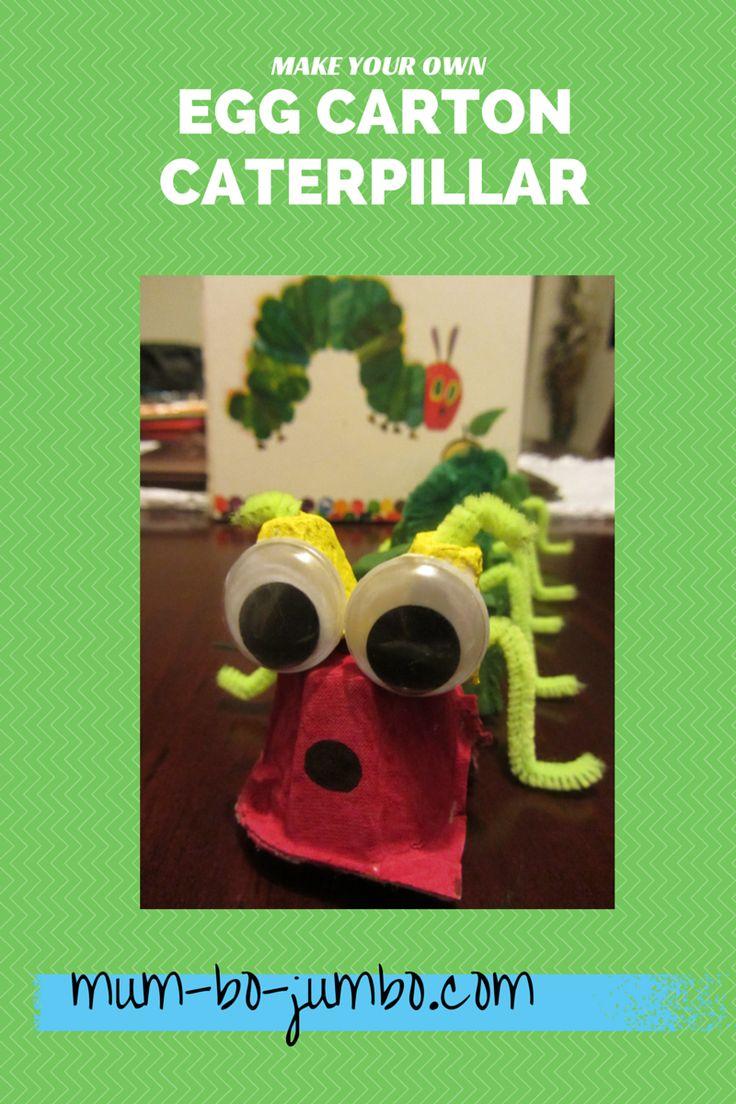 Make Your Own Egg Carton Caterpillar