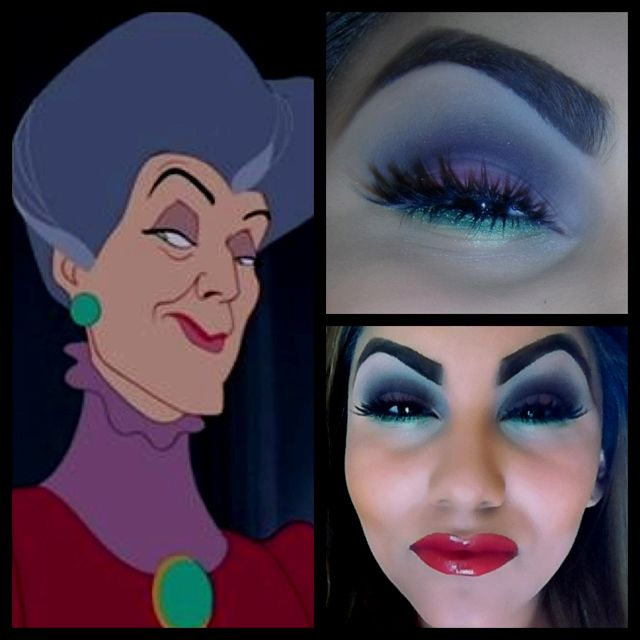 Disneys Villain inspired makeup: Cinderella's Evil Stepmother