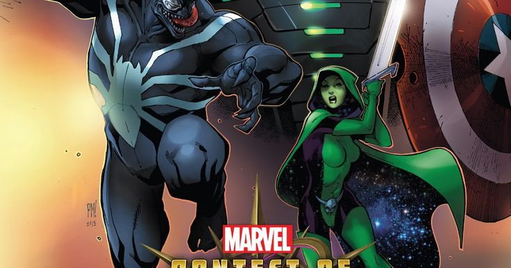 by Al Ewing (Author) Paco Medina (Illustrator)  You've played the game now watch the action play out across page after page of super hero showdowns! Welcome to the Battlerealm - a broken section of space-time where cosmic beings gamble for ultimate power using unwilling pawns drawn from across the multiverse. Your favorites must fight for their lives and a chance to return to their Earth. Iron Man! Venom! Gamora! Ares! Plus sensational breakout stars-in-waiting like Outlaw White Fox and the…