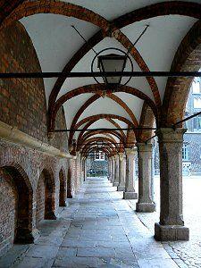 Arkaden am Lübecker Marktplatz