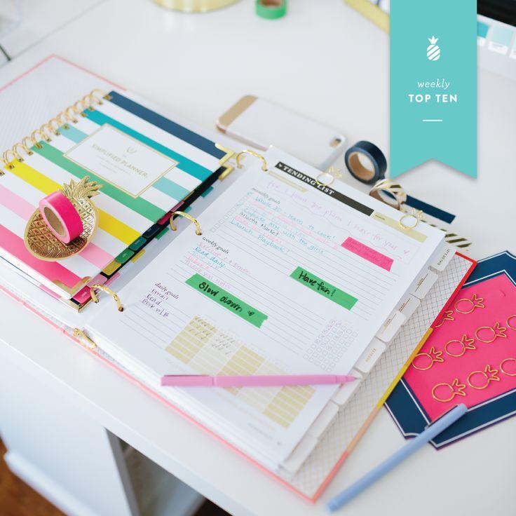 The EL Simplified Planner + Lara Casey Powersheets!