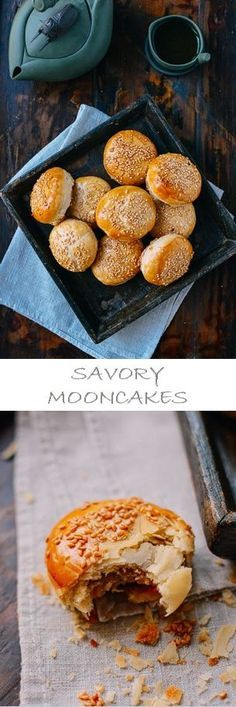 Savory Mooncakes Recipe by the Woks of Life