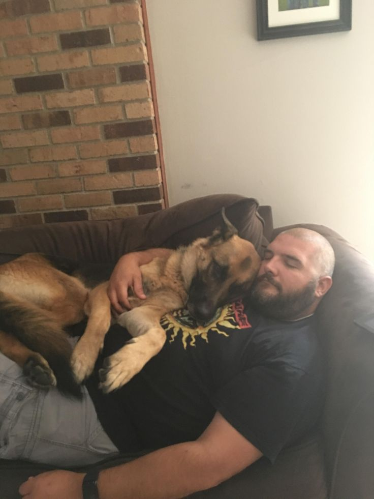 Saturday morning cuddles. He was up scared most of the night because of thunderstorms. http://ift.tt/2gYhHla