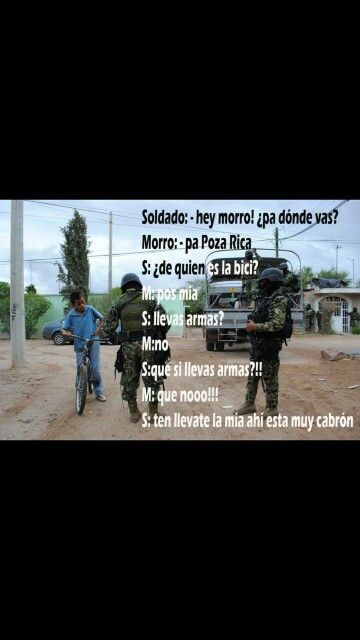 Chiste local.