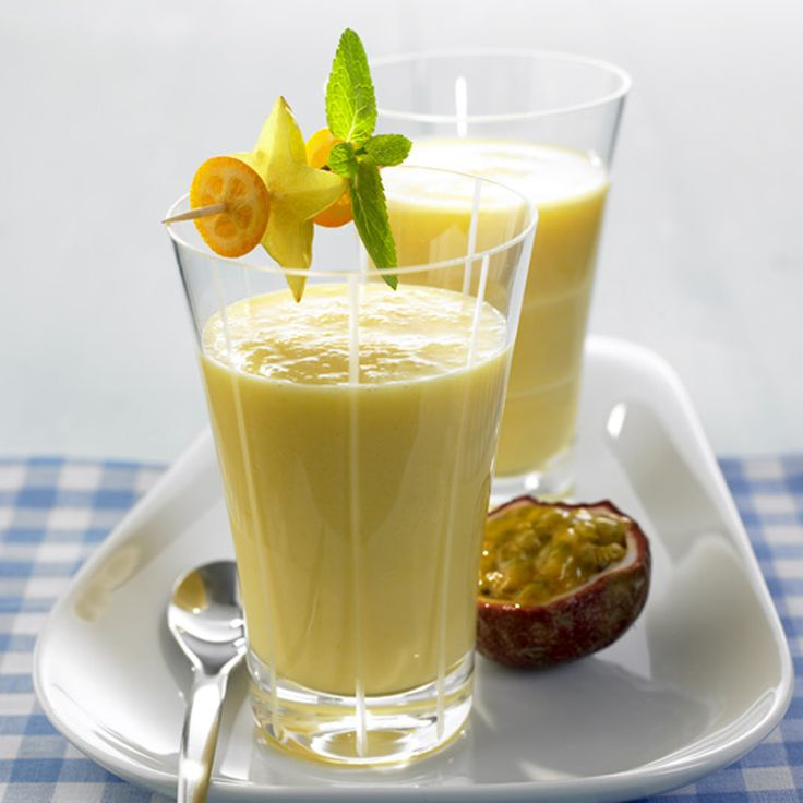 Smoothie met yoghurt en fruit Recept   Weight Watchers Nederland