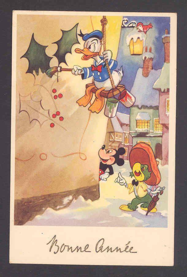 VINTAGE DISNEY POSTCARD   Disney Postcards   Pinterest   Disney ...