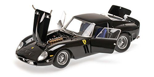 """1962 Ferrari 250 GTO Black High End 1/18 Diecast Model Car Kyosho 08437       Famous Words of Inspiration...""""Bad artists copy. Great artists steal.""""   Pablo Picasso — Click here for more from Pablo... more details available at https://perfect-gifts.bestselleroutlets.com/gifts-for-teens/toys-games-gifts-for-teens/product-review-for-1962-ferrari-250-gto-black-high-end-1-18-diecast-model-car-kyosho-08437/"""