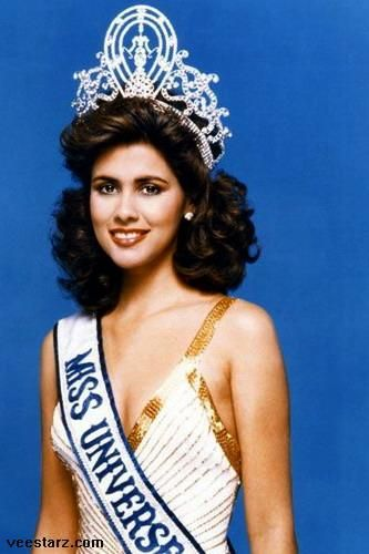 Deborah Fátima Carthy-Deu Miss Universe 1985 -actress.  b 05JAN 1966 San Juan, PR   Puerto Rico is one of the most successful competitors in the history of the Miss Universe pageant, having won five times. Marisol Malaret, Miss Puerto Rico 1970, was the first Puerto Rican to win the Miss Universe title. The four other Puerto Rican who have won the Miss Universe title are Deborah Carthy-Deu 1985, Dayanara Torres 1993, Denise Quiñones 2001, and Zuleyka Rivera 2006.