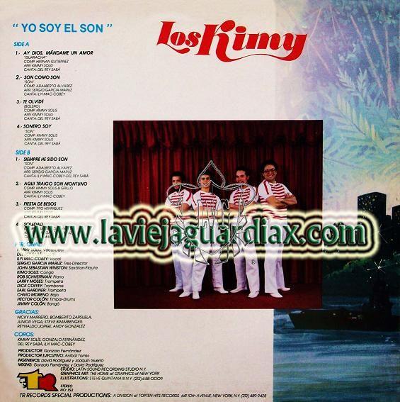 2- Los Kimy: Yo Soy El Son-TR RECORDS, 152  (1983).