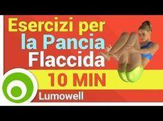 Esercizi per il Girovita. Eliminare Pancia, Fianchi e Maniglie dell'amore - YouTube