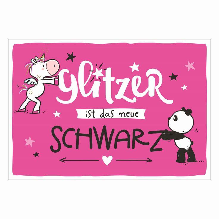 Postkarte »Das neue Schwarz« | Jetzt online kaufen, schneller Versand
