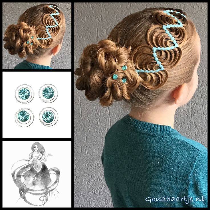 Hollywood wave ribbon braid into a bun with beautiful curlies from the webshop www.goudhaartje.nl (worldwide shipping).   Hairstyle inspired by: @_elvira_alexa and @my_babygirlshair (instagram)  #hair #hairstyle #braid #braids #hairstylesforgirls #plait #trenza #peinando #прическа #pricheska #ヘアスタイル  #髮型 #suomiletit #zöpfe #frisuren #fläta #fletning #beautifulhair #gorgeoushair #stunninghair #hairaccessories #hairinspo #braidideas #amazinghair #updo #ribbonbraid #hollywoodwaveribbonbraid