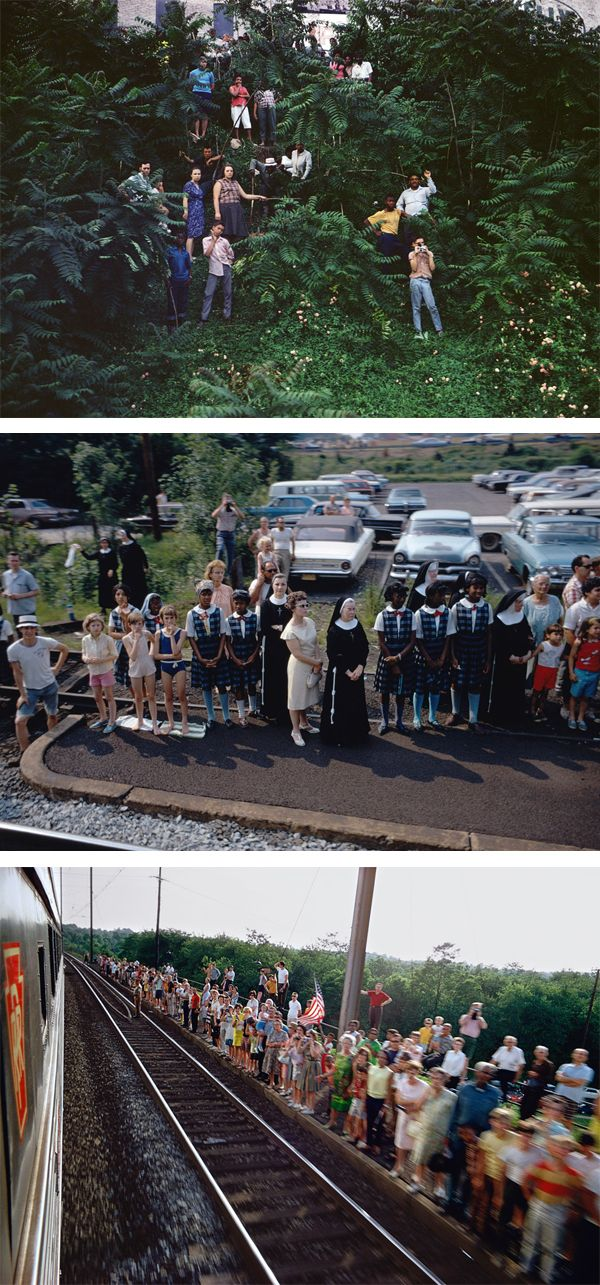 paul fusco - RFK train http://www.paulfuscophoto.com/