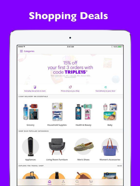 Jet: Online Shopping Deals & Bulk Wholesale Prices by Jet - Jet.com