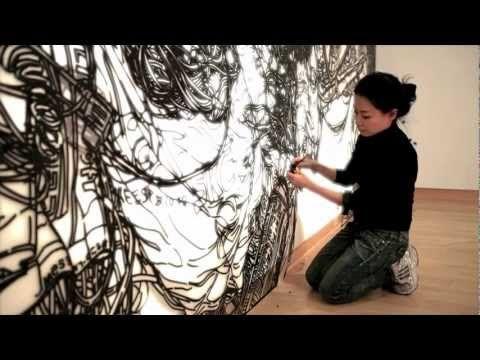 """Heeseop Yoon's Installation of """"Still-life #12"""" - YouTube"""