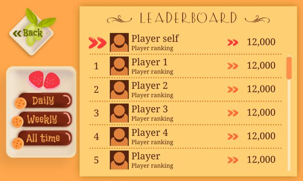 Game UI - Hungry Hamster by Sumeet Kalindi, via Behance