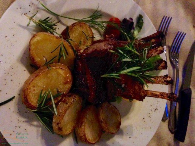 Restaurants Umbria Blog #villainumbria Antica Dogana