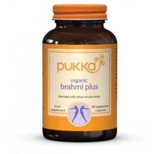 Brahmi Plus food supplement - Pukka Herbs incredible organic herbs